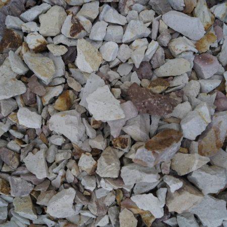 Серо-рыжий песчаник колотый